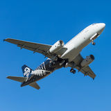 Air New Zealand plane Royalty Free Stock Images
