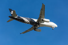Air New Zealand surfacent Photographie stock