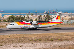 Air Nostrum ATR 72 stock image