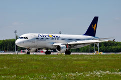 Air One-Luchtbus A320 Stock Foto