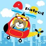 Air patrol stock illustration