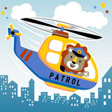 Air patrol Royalty Free Stock Photo