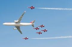 Air14 Payerne, die Schweiz Lizenzfreies Stockfoto