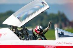 Air14 Payerne, die Schweiz Lizenzfreie Stockfotos