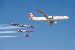 Air14 Payerne, Schweiz Royaltyfri Fotografi