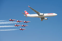 Air14 Payerne, Zwitserland Royalty-vrije Stock Fotografie