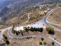 Air photograph, Amiras Heraklion, Crete, Greece Royalty Free Stock Images