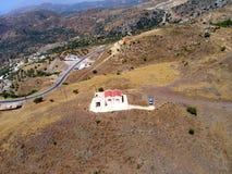 Air photograph, Amiras Heraklion, Crete, Greece Royalty Free Stock Photo
