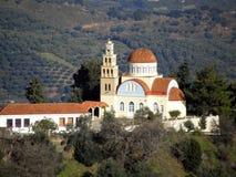 Air photograph, Lakki, Omalos, Lefka Ori, Chania, Crete, Greece Stock Photos