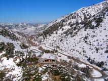 Air photograph, Omalos, Lefka Ori, Chania, Crete, Greece Royalty Free Stock Photos