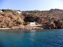 Air photograph, Souda Bay, Chania, Crete, Greece. Aerial View of Souda Bay, Chania, Crete, Greece Stock Photo