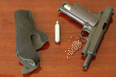 Air pistol Royalty Free Stock Images