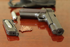 Air pistol Royalty Free Stock Photo