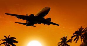 Air plane Stock Image