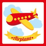 Air plane design Royalty Free Stock Images