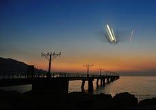 Air Plane landing Stock Images