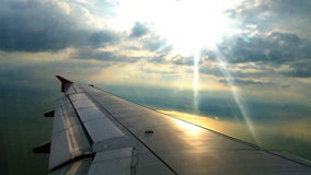 Air plane, Plane Wing, Aviation Royalty Free Stock Photography