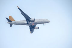 Air Plane. The air plane is taking off. Photo taken on: July 13th, 2014 royalty free stock images