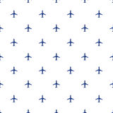 Air plane travel transportation background Royalty Free Stock Photos