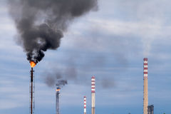 Air pollutants Stock Photography