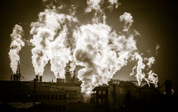 Air pollution Royalty Free Stock Photos