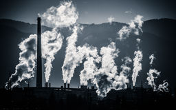 Air pollution Stock Image