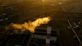 Air pollution and global warming by petroleum chemical industries