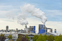 Air Pollution Royalty Free Stock Photo