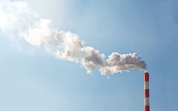 Air pollution Royalty Free Stock Photography