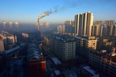 Air pollution Royalty Free Stock Photos