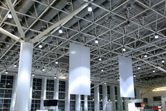 Air port roof Stock Photo