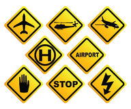 Air Port Sign Royalty Free Stock Photos
