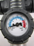 Air pressure gauge Stock Image