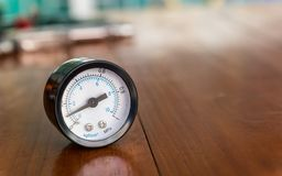 Free Air Pressure Gauge. Stock Photography - 160232272