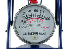 Air pressure gauge Royalty Free Stock Photography