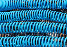 Air pressure hoses Royalty Free Stock Photos