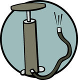 air pump vector illustration Royalty Free Stock Photography