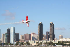 Air race in san diego Stock Images