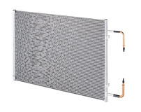 Air radiator isolated on white  Royalty Free Stock Image
