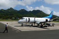 Air Rarotonga - cozinheiro Islands Fotografia de Stock