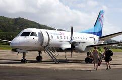 Air Rarotonga - cuisinier Islands Images stock