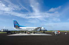 Air Rarotonga - kock Islands Royaltyfria Bilder