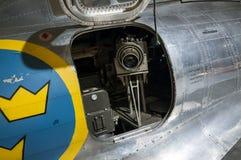 Air reconnaissance camera Royalty Free Stock Image