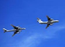 Air refueling Stock Photo