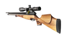 Air rifle isolated Royalty Free Stock Photo