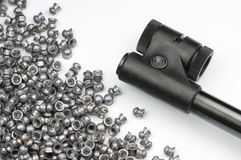 Air Rifle and Pellets Stock Photos