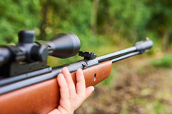 Air rifle Royalty Free Stock Photography