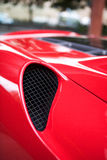 Air Scoop. The Air Scoop of a Ferrari Sports Car Royalty Free Stock Photography