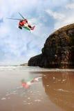 Air sea rescue coastal search Stock Photography