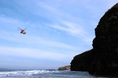 Air sea rescue search Stock Photography